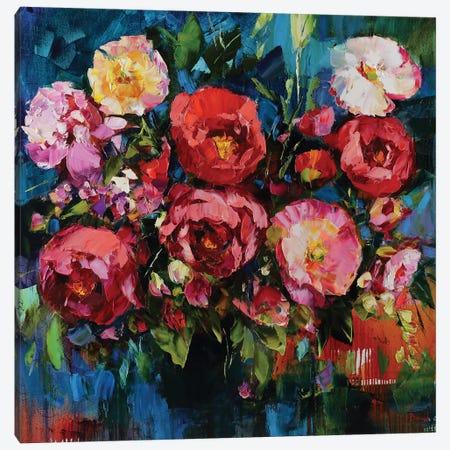 Pretty In Pink Canvas Print #TAY143} by Tatyana Yabloed Canvas Wall Art