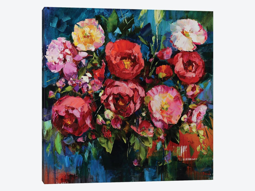 Pretty In Pink 1-piece Canvas Wall Art