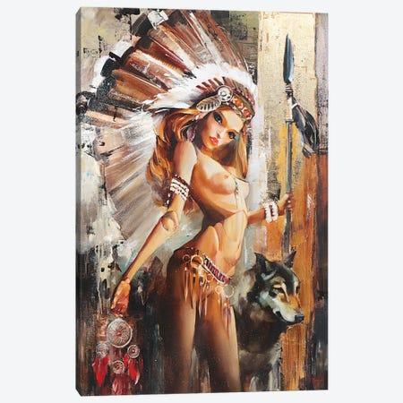 Dreamcatcher Canvas Print #TAY146} by Tatyana Yabloed Canvas Art Print