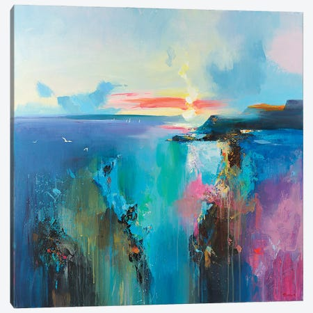 Laguna 3-Piece Canvas #TAY148} by Tatyana Yabloed Canvas Art