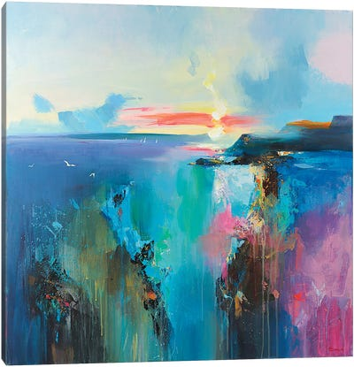 Laguna Canvas Art Print