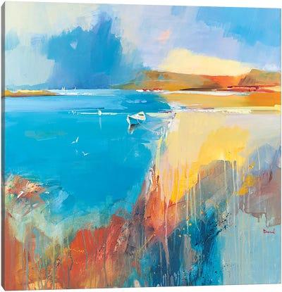 Just Summer Canvas Art Print