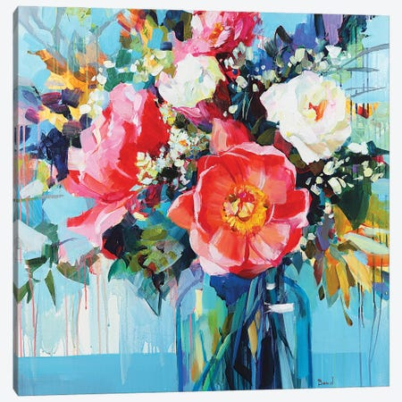 Belle Love Canvas Print #TAY156} by Tatyana Yabloed Canvas Art