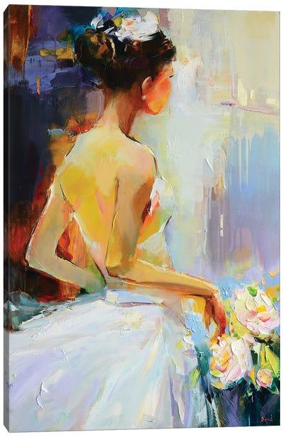 Bright Pearl Canvas Art Print