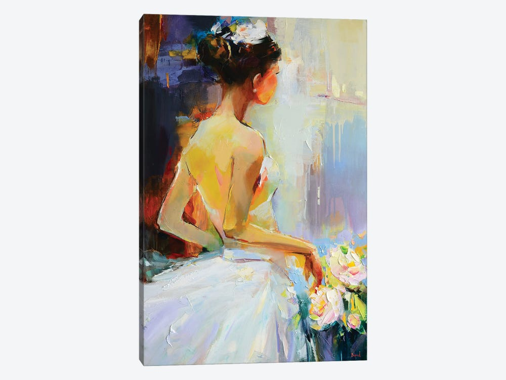 Bright Pearl by Tatyana Yabloed 1-piece Canvas Art