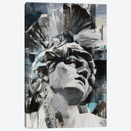 Seductive Gray Canvas Print #TAY169} by Tatyana Yabloed Canvas Artwork