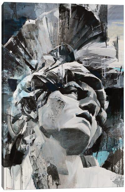 Seductive Gray Canvas Art Print
