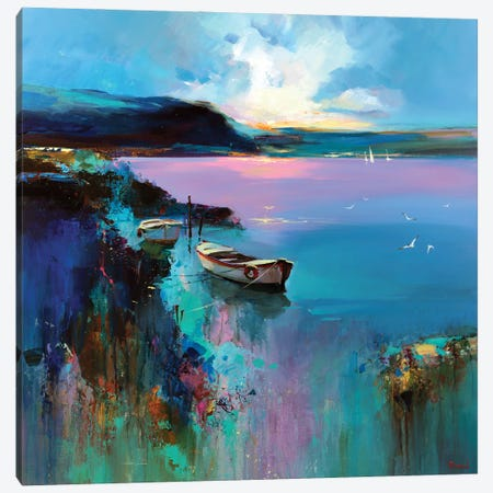 Enveloping Canvas Print #TAY174} by Tatyana Yabloed Canvas Wall Art