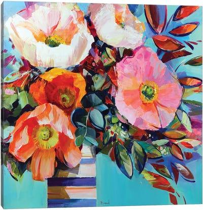 Floral Shock Canvas Art Print