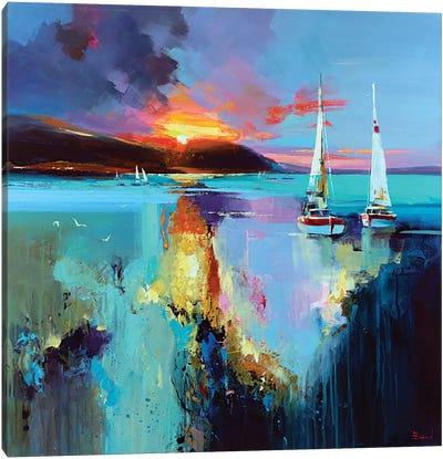 Deep Ray Of Ligh Canvas Art Print