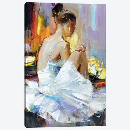 Eternity Love Canvas Print #TAY181} by Tatyana Yabloed Canvas Art