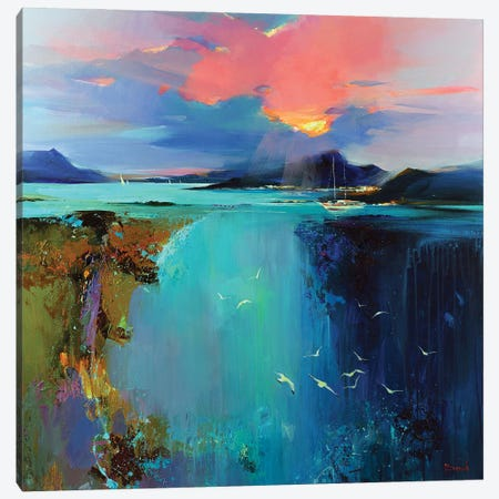 Secret Wish Canvas Print #TAY184} by Tatyana Yabloed Canvas Print