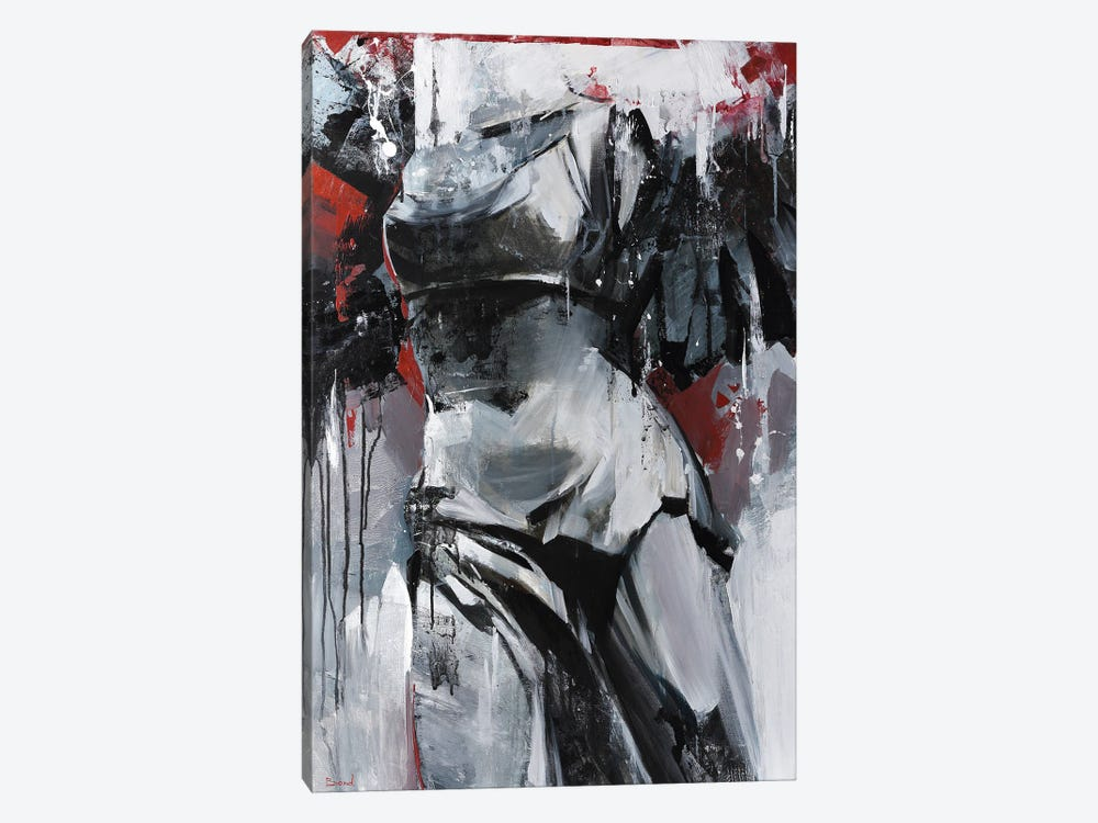 Hard Kiss by Tatyana Yabloed 1-piece Canvas Art