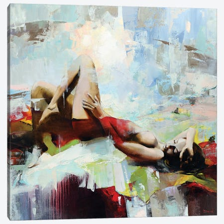 La Vie Est Belle Canvas Print #TAY195} by Tatyana Yabloed Canvas Artwork