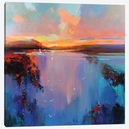 Follow The Dream Canvas Print #TAY197} by Tatyana Yabloed Canvas Art