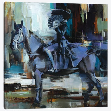 The La Grande Dame Canvas Print #TAY26} by Tatyana Yabloed Canvas Artwork