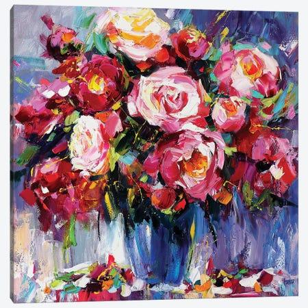 The Meltdown Pink Canvas Print #TAY28} by Tatyana Yabloed Art Print