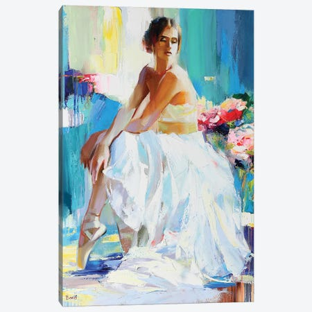 The Perfect Stranger Canvas Print #TAY31} by Tatyana Yabloed Canvas Artwork