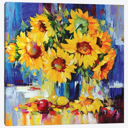 The Sunny Dance Canvas Print #TAY40} by Tatyana Yabloed Canvas Print
