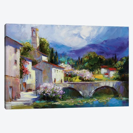 A Magic Spring From Deep Inside Canvas Print #TAY50} by Tatyana Yabloed Canvas Wall Art