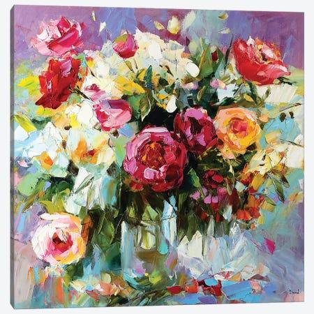 Sweet Nectar Canvas Print #TAY71} by Tatyana Yabloed Canvas Art