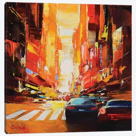 The Beautiful Sunset Canvas Print #TAY72} by Tatyana Yabloed Canvas Art