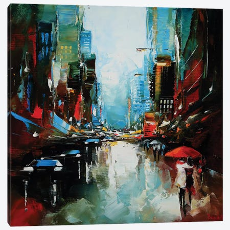The Love Lies Canvas Print #TAY79} by Tatyana Yabloed Canvas Wall Art