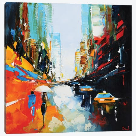 The Trip Canvas Print #TAY84} by Tatyana Yabloed Canvas Artwork