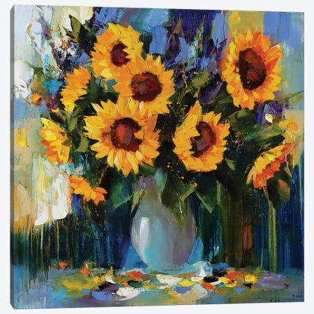 Thinking About You Canvas Print #TAY85} by Tatyana Yabloed Canvas Wall Art
