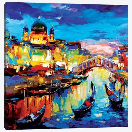 Pure Water Canvas Print #TAY95} by Tatyana Yabloed Art Print