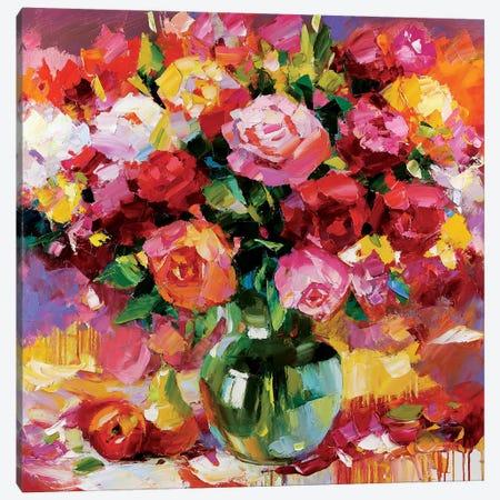 Sunny Side of Summer Canvas Print #TAY97} by Tatyana Yabloed Art Print