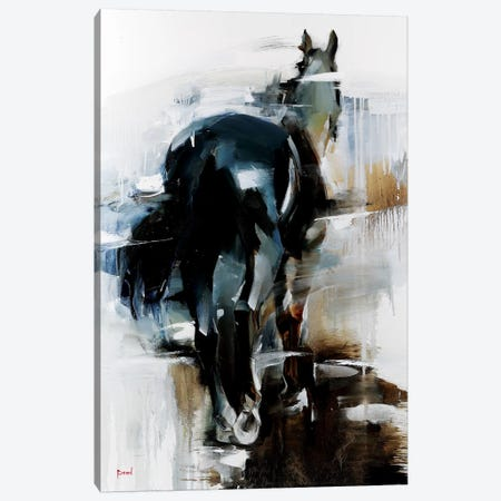 The Dark Knight Canvas Print #TAY98} by Tatyana Yabloed Canvas Artwork