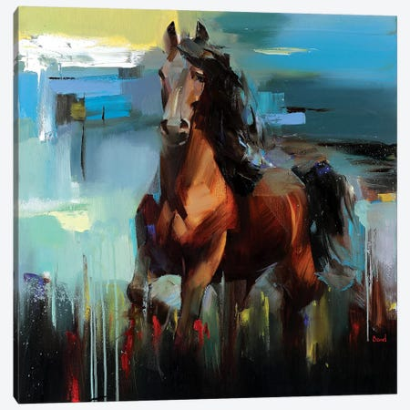 Kohinur Canvas Print #TAY9} by Tatyana Yabloed Canvas Wall Art