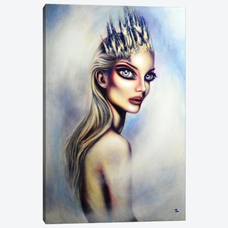The Snow Queen Canvas Print #TAZ31} by Tiago Azevedo Canvas Print