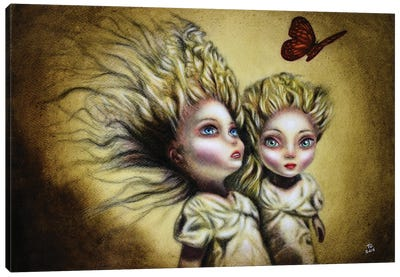 Two Sisters Canvas Art Print