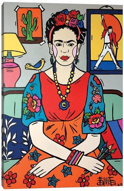 Frida Kahlo III Canvas Art Print