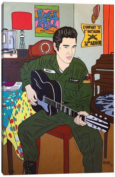 Elvis Presley Canvas Art Print