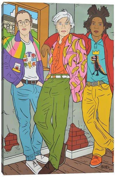 Pop Art Vibe Canvas Art Print