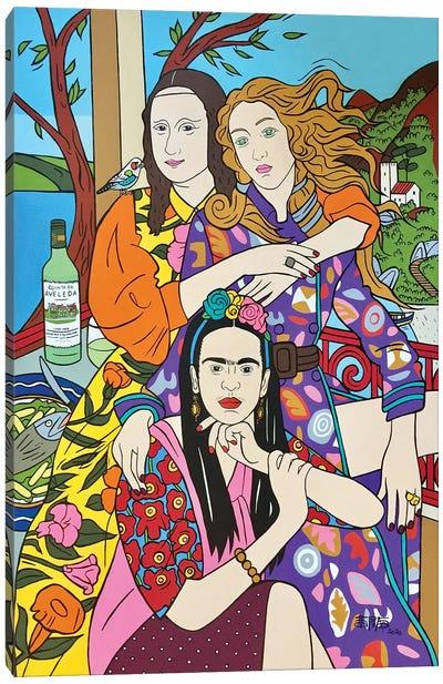The Girls Canvas Art Print