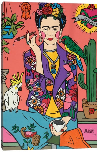 Frida Kahlo IV Canvas Art Print