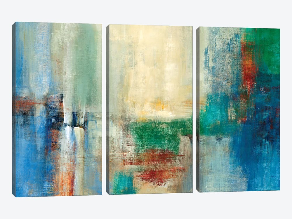 Color Field by Theo Beck 3-piece Canvas Art