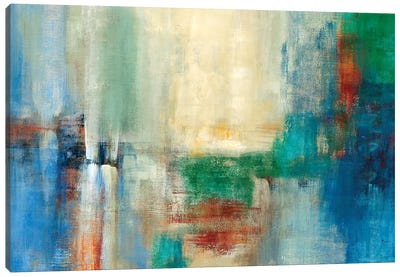 Color Field Canvas Art Print