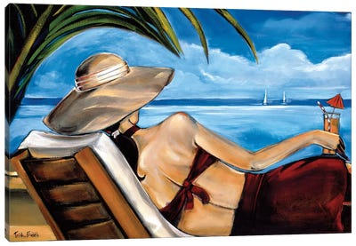 Riviera Canvas Art Print