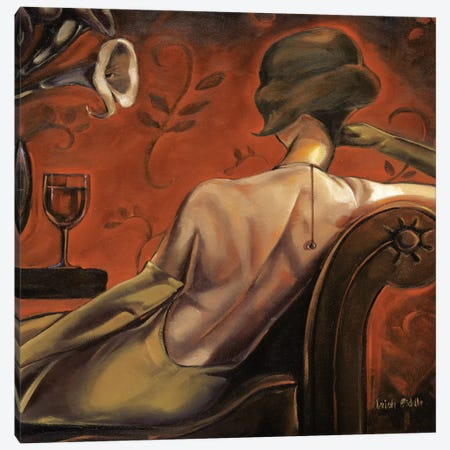 Bordeaux Lounge Canvas Print #TBI1} by Trish Biddle Canvas Wall Art
