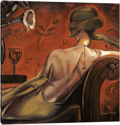 Bordeaux Lounge Canvas Art Print
