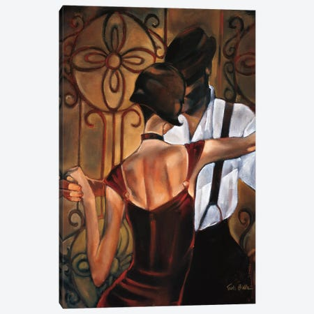 Evening Tango Canvas Print #TBI4} by Trish Biddle Canvas Print