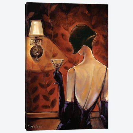 Mademoiselle Canvas Print #TBI5} by Trish Biddle Art Print