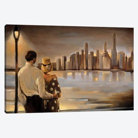Reflections IV Canvas Print #TBI9} by Trish Biddle Canvas Art