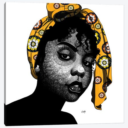 Fatima Canvas Print #TBJ10} by Ohab TBJ Art Print
