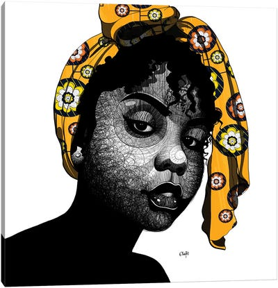 Fatima Canvas Art Print
